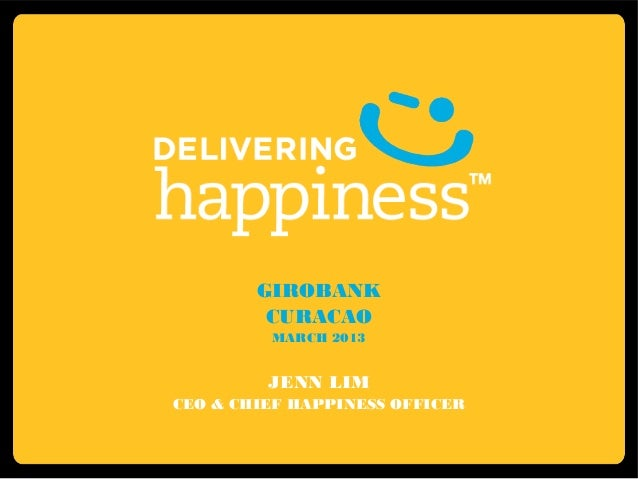Girobank curacao jenn lim delivering happiness