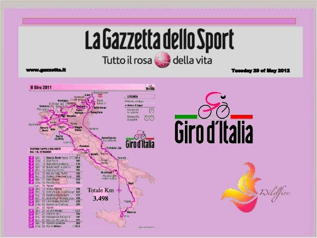 Giro d'Italia field project