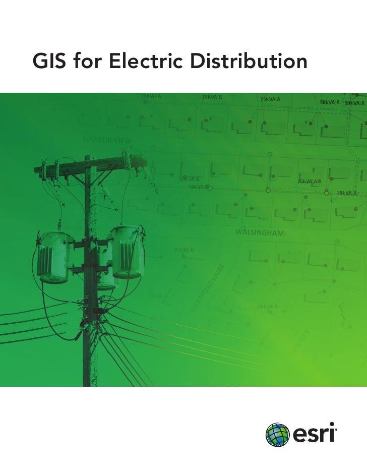 Gis for Electric Distribution