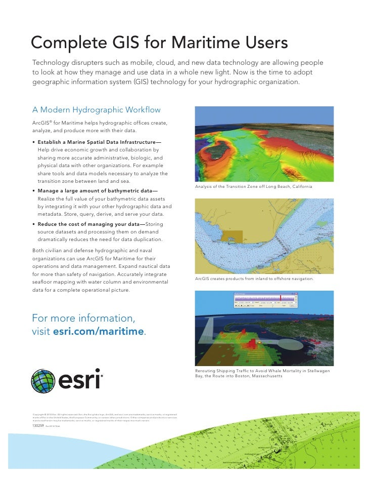 GIS for Maritime Users