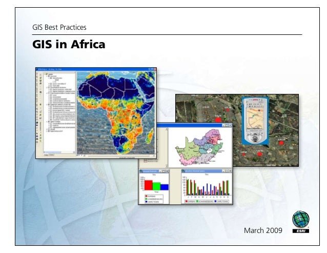 GIS Best Practices  GIS in Africa  March 2009