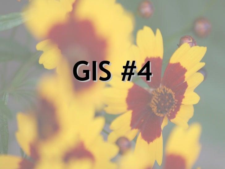 GIS #4
