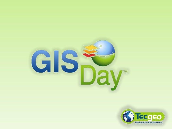GIS Day 2011 - Boas Vindas
