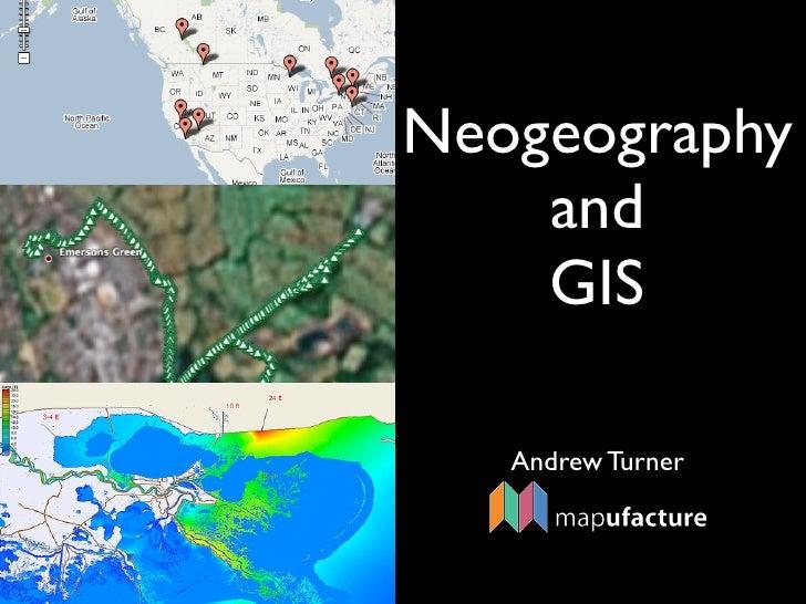GISDay2007 -  Neogeography And Gis