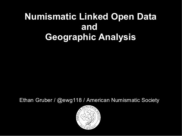 Numismatic Linked Open Data and Geographic Analysis