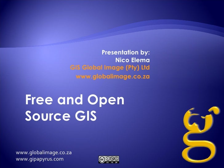 Free and Open Source GIS