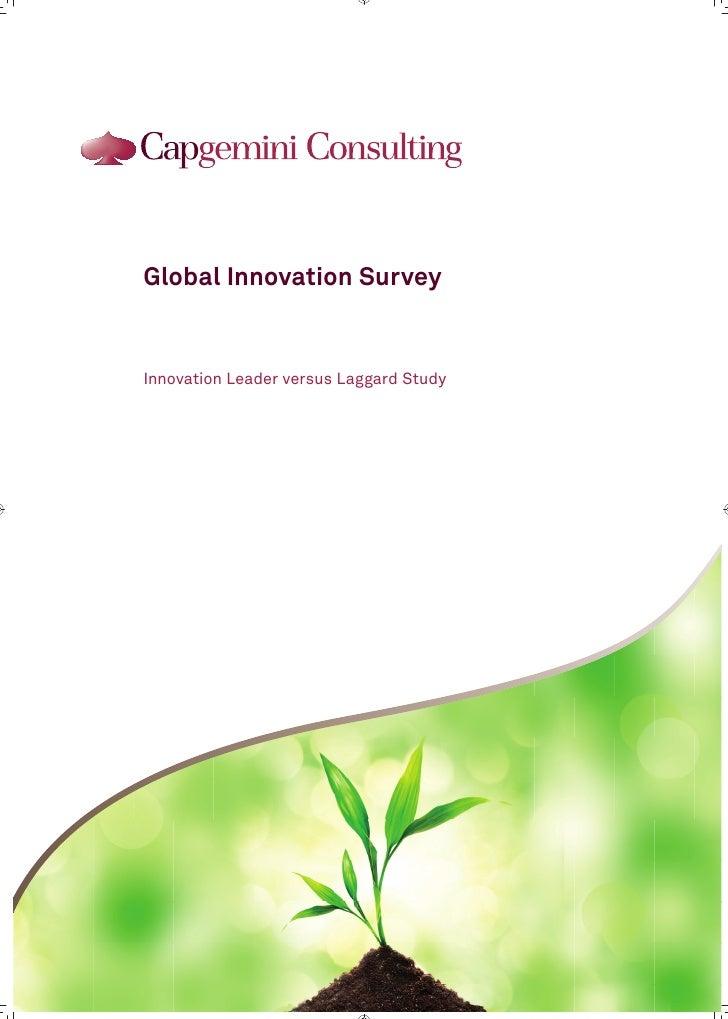 Gis innovation leader versus laggard study