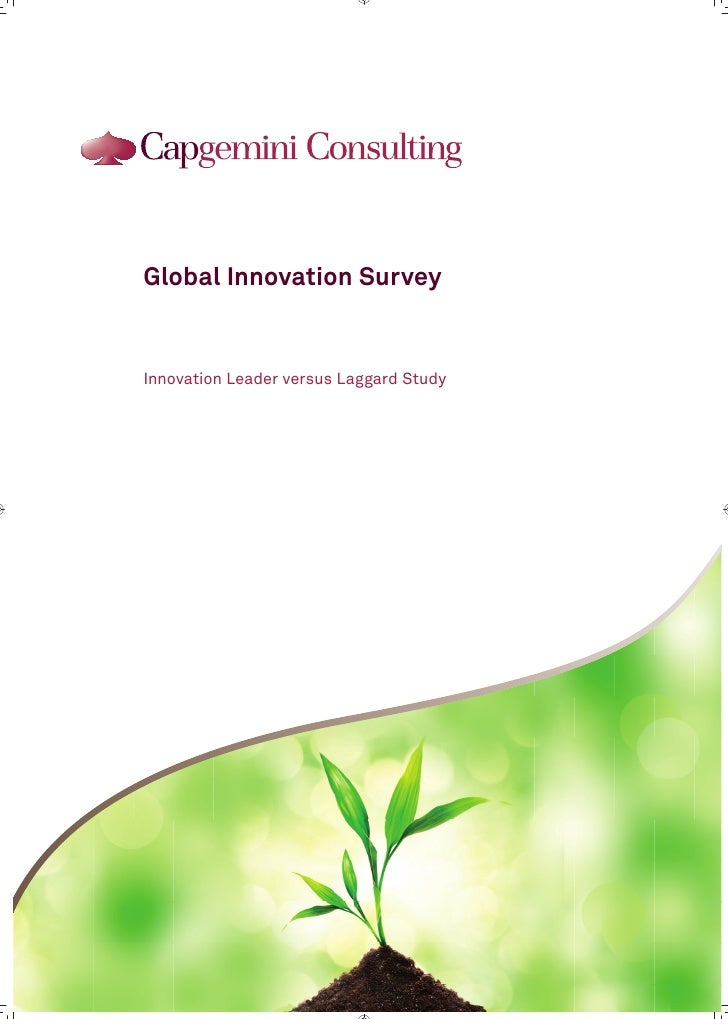 Gis innovation leader versus laggard study