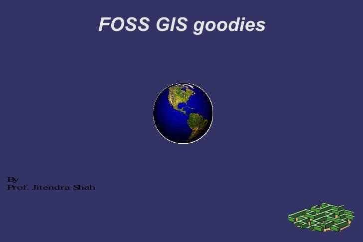 FOSS GIS goodies