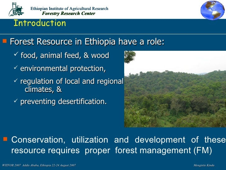 geographic information system in forest management A geographic information system tool  it is expected that forest managers, fire  professionals and land owners will be interested in the product, because it will.
