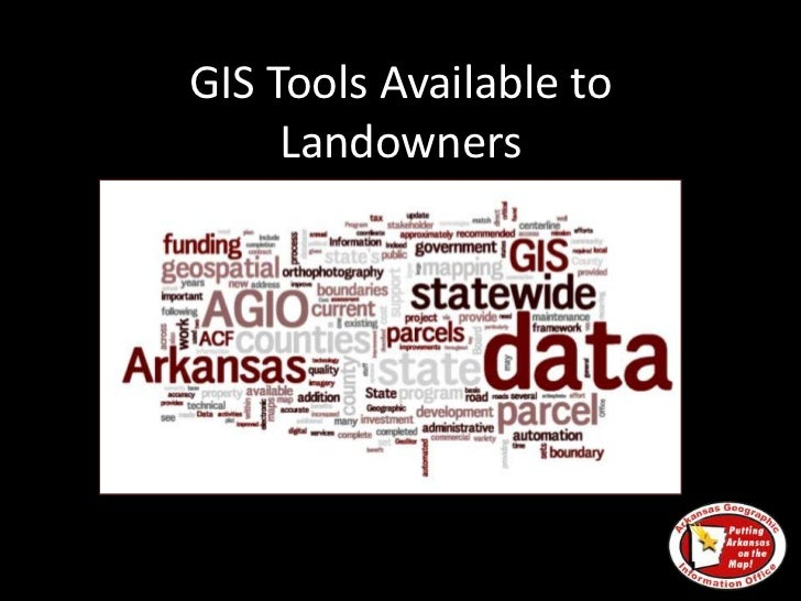 GIS Tools for Landowners