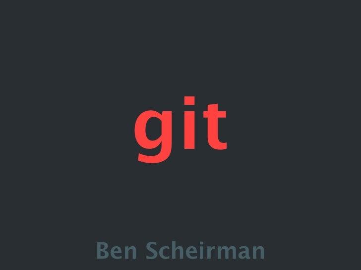 Meet Git