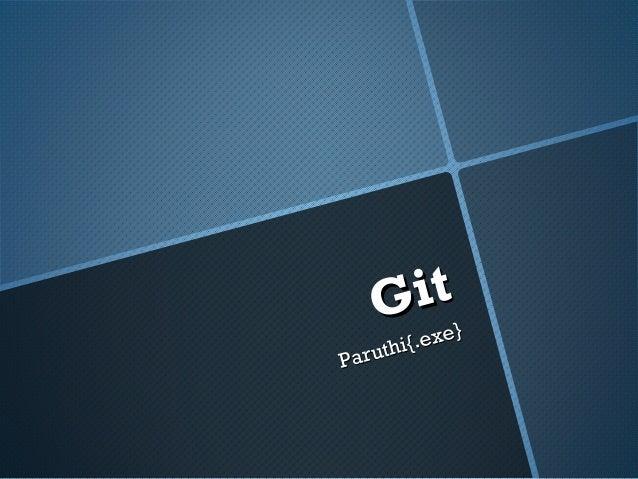 git fast & minimal