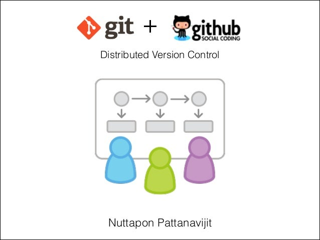 + Distributed Version Control  Nuttapon Pattanavijit