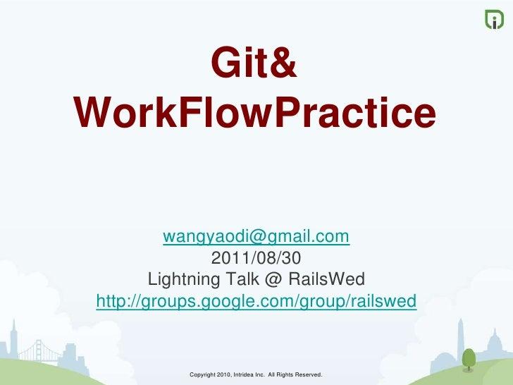Git Workflow Practice