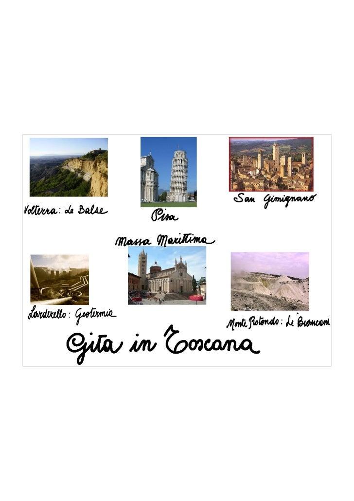 Gita in Toscana