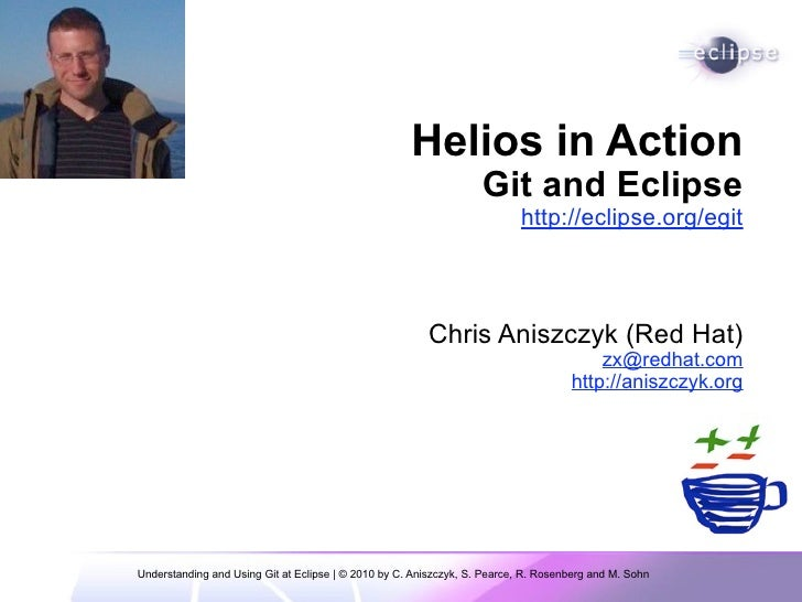 Helios in Action: Git at Eclipse
