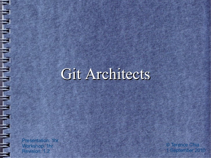 Git architects