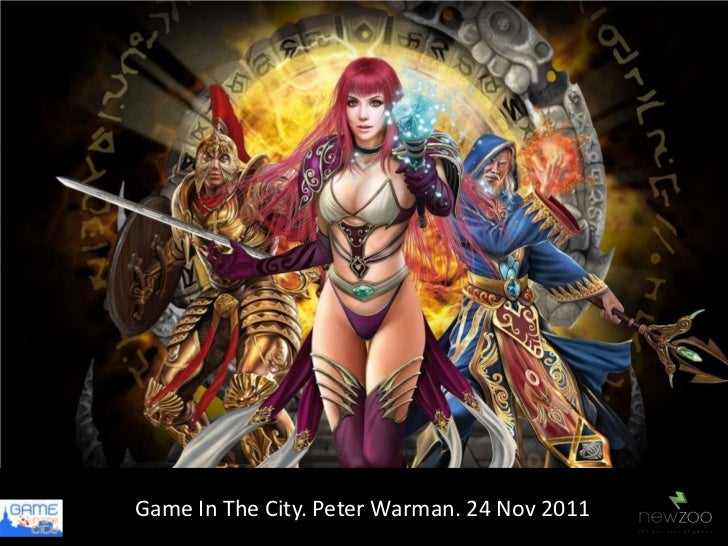 Game In The Newzoo Market Data24 Nov 2011            City. Peter Warman. Clients           50% EU, 30% US, 20% Asia