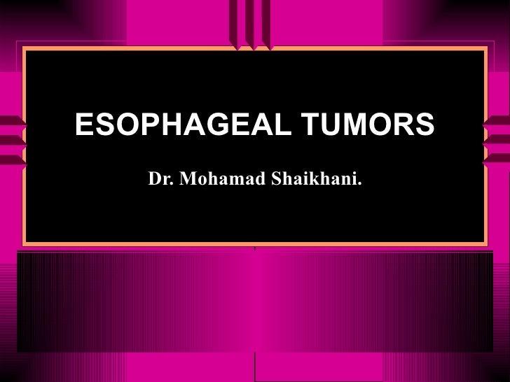 Git Esophageal Cancer.