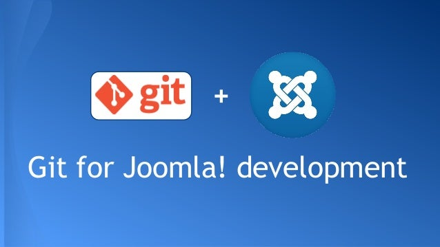 Git for Joomla! development +