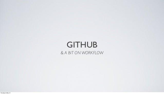 GitHub Talk - Cody Carnachan
