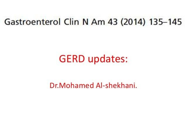 Git j club GERD updates2014 GECNA.