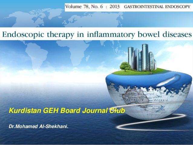 LOGO  Kurdistan GEH Board Journal Club Dr.Mohamed Al-Shekhani.