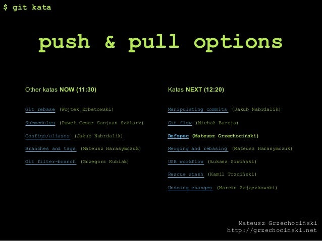 Gitkata push and_pull_options