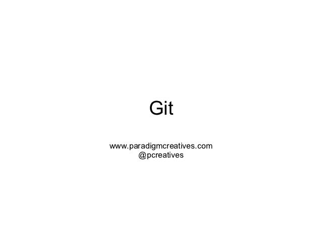 Gitwww.paradigmcreatives.com      @pcreatives