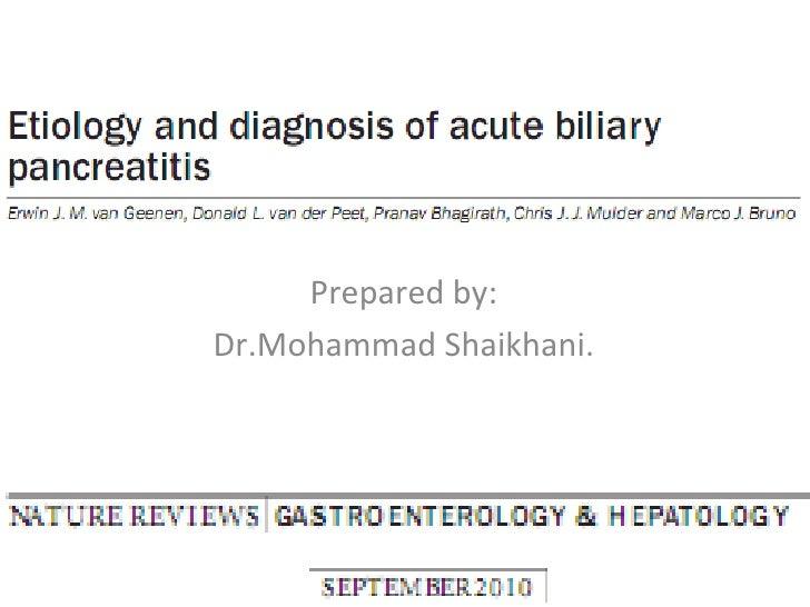 Prepared by: Dr.Mohammad Shaikhani.