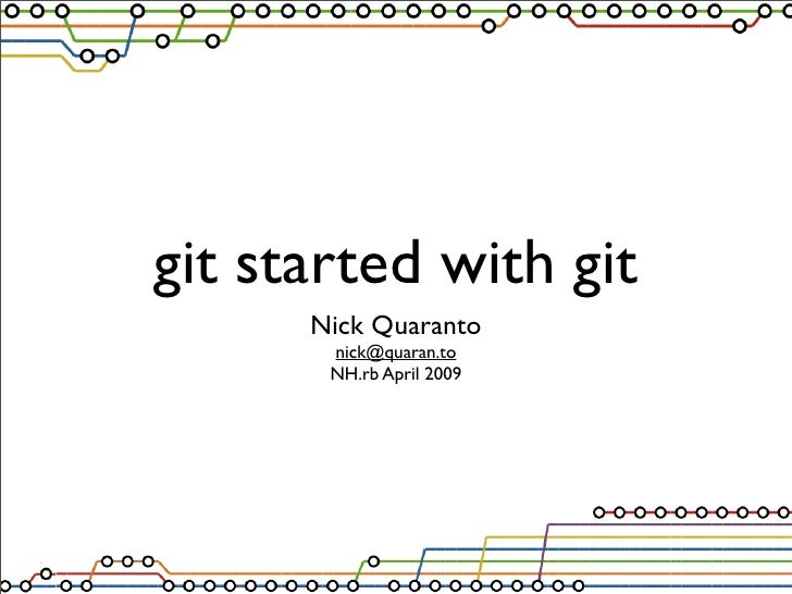Git Started With Git