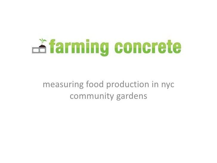 Farm City Forum - Pecha Kucha - Farming Concrete - Mara Gittelman