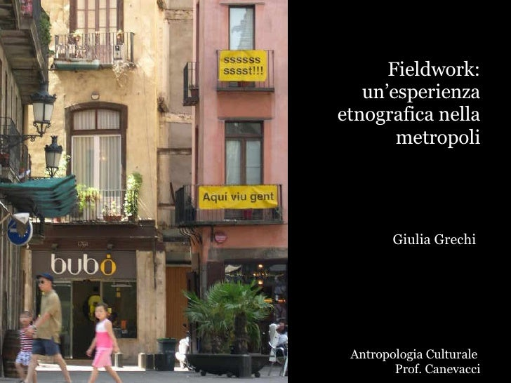 Giulia Grechi Seminario Fieldwork