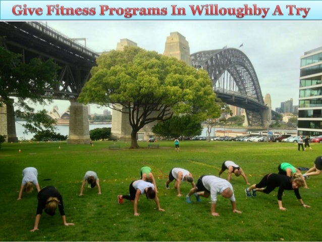 Give Fitness Programs in Willoughby a Try