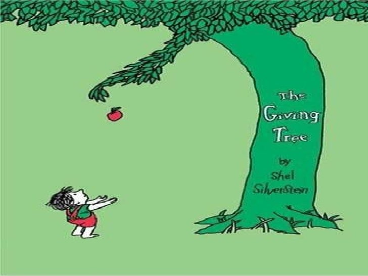 Giving tree الشجرة المعطاءه - الأم