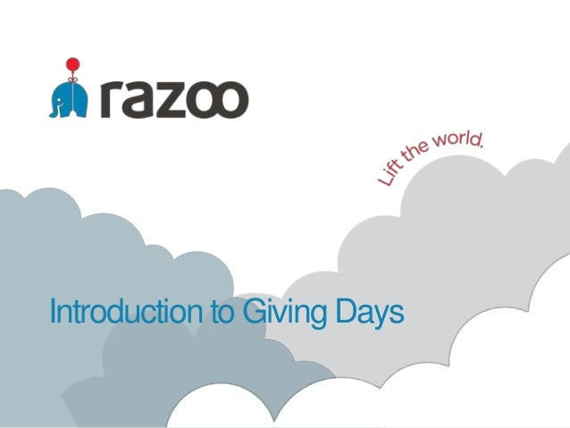 Introduction to Giving Days
