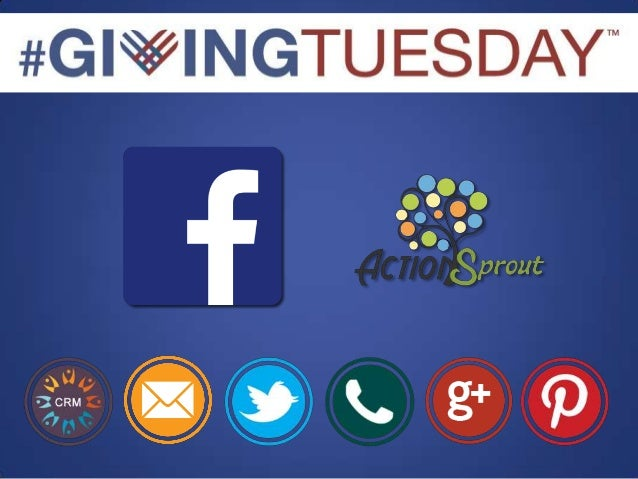 Using Facebook For Giving Tuesday