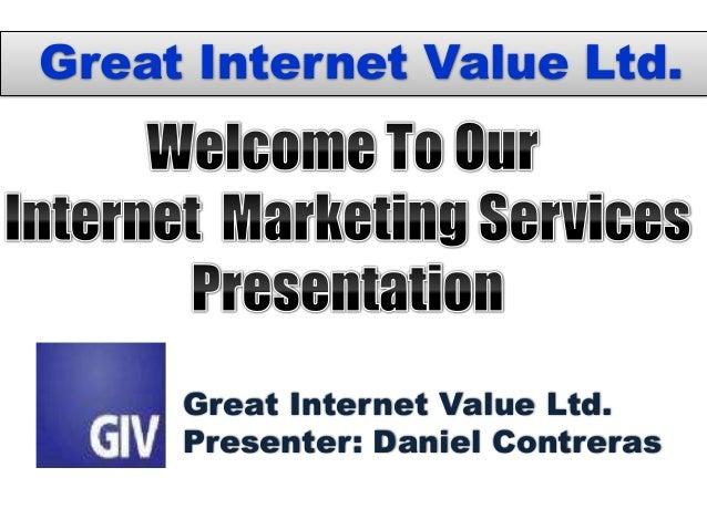 GIV Ltd Pricing