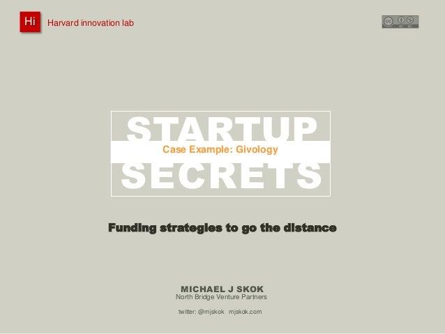 Startup Secrets: Raising Funding - Case – Givology