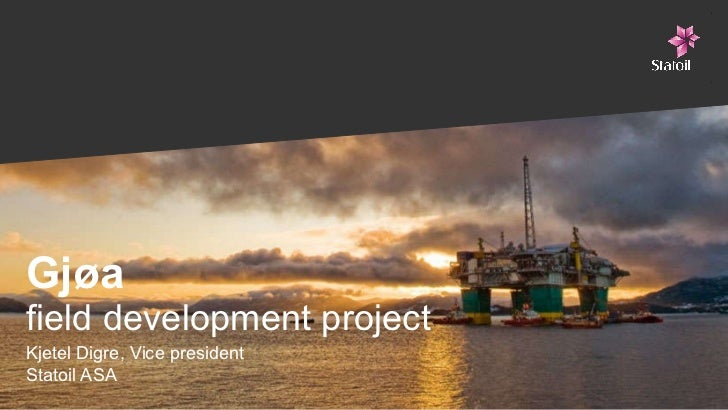 The Gjøa project