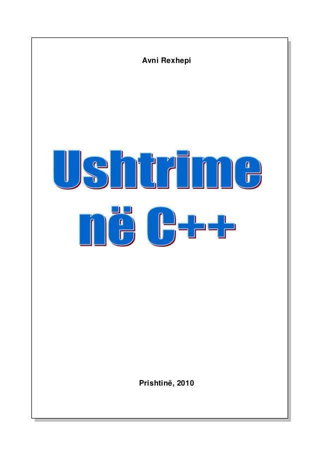 Gjuhe Programuese   ushtrimet   C++