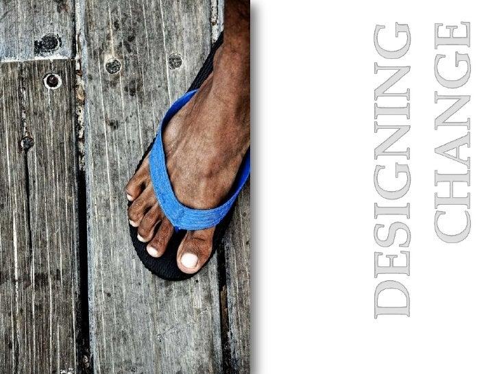 Designing  change<br />