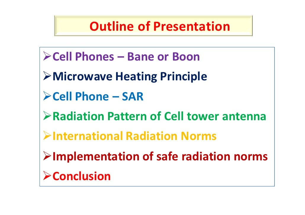 Essay on cellular phones