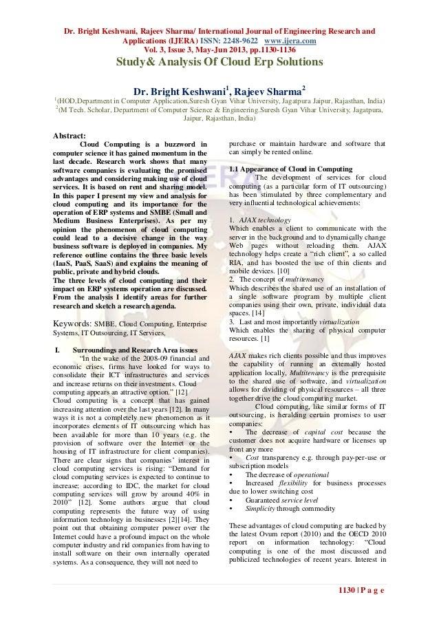 Dr. Bright Keshwani, Rajeev Sharma/ International Journal of Engineering Research andApplications (IJERA) ISSN: 2248-9622 ...