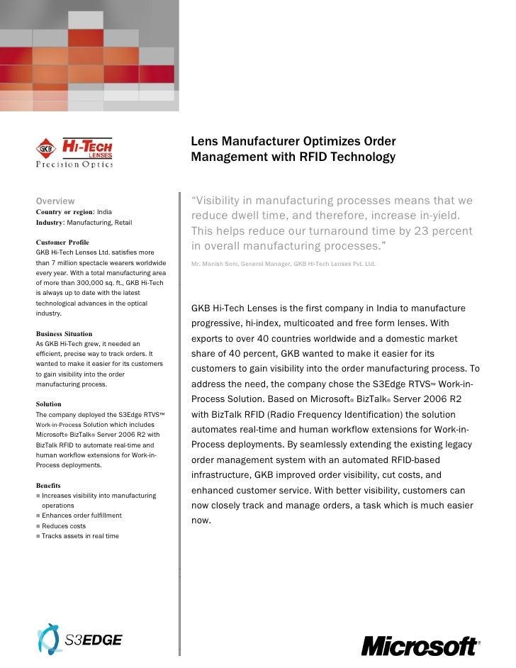 Microsoft India - Gkb Hi Tech Ltd Case Study