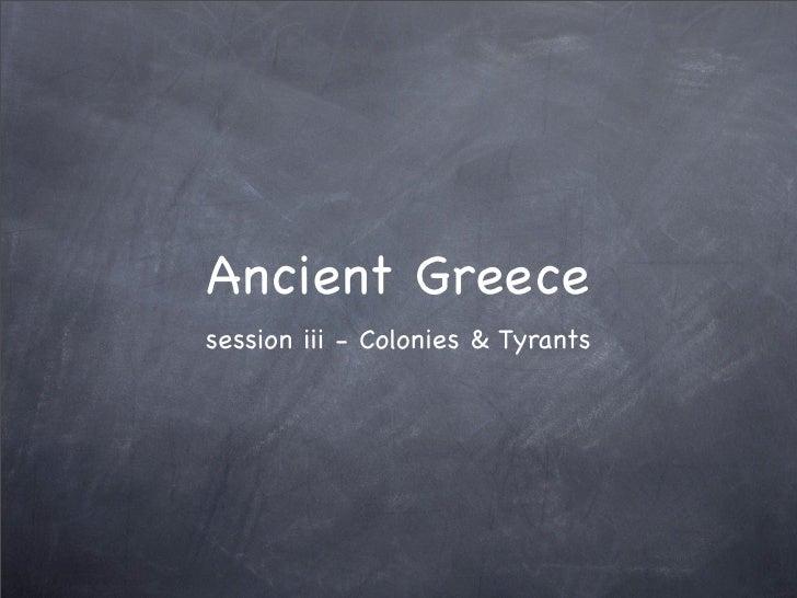 Greek session 3 intro