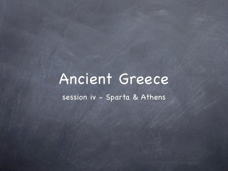 Greece sess 4 intro