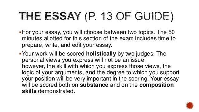 simple guidelines for essay writing