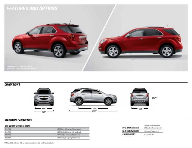 2014 chevrolet equinox brochure